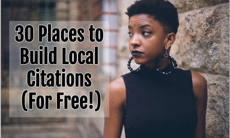30 places to build local citations for free
