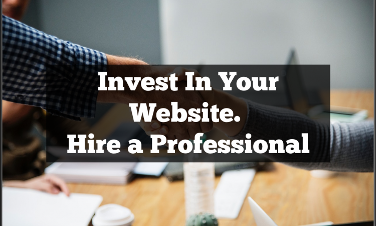 invest in your website by hiring a webmaster