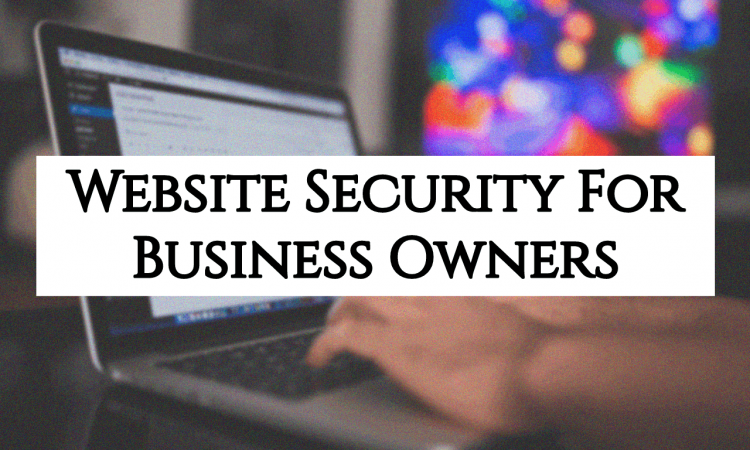 website security for business owners